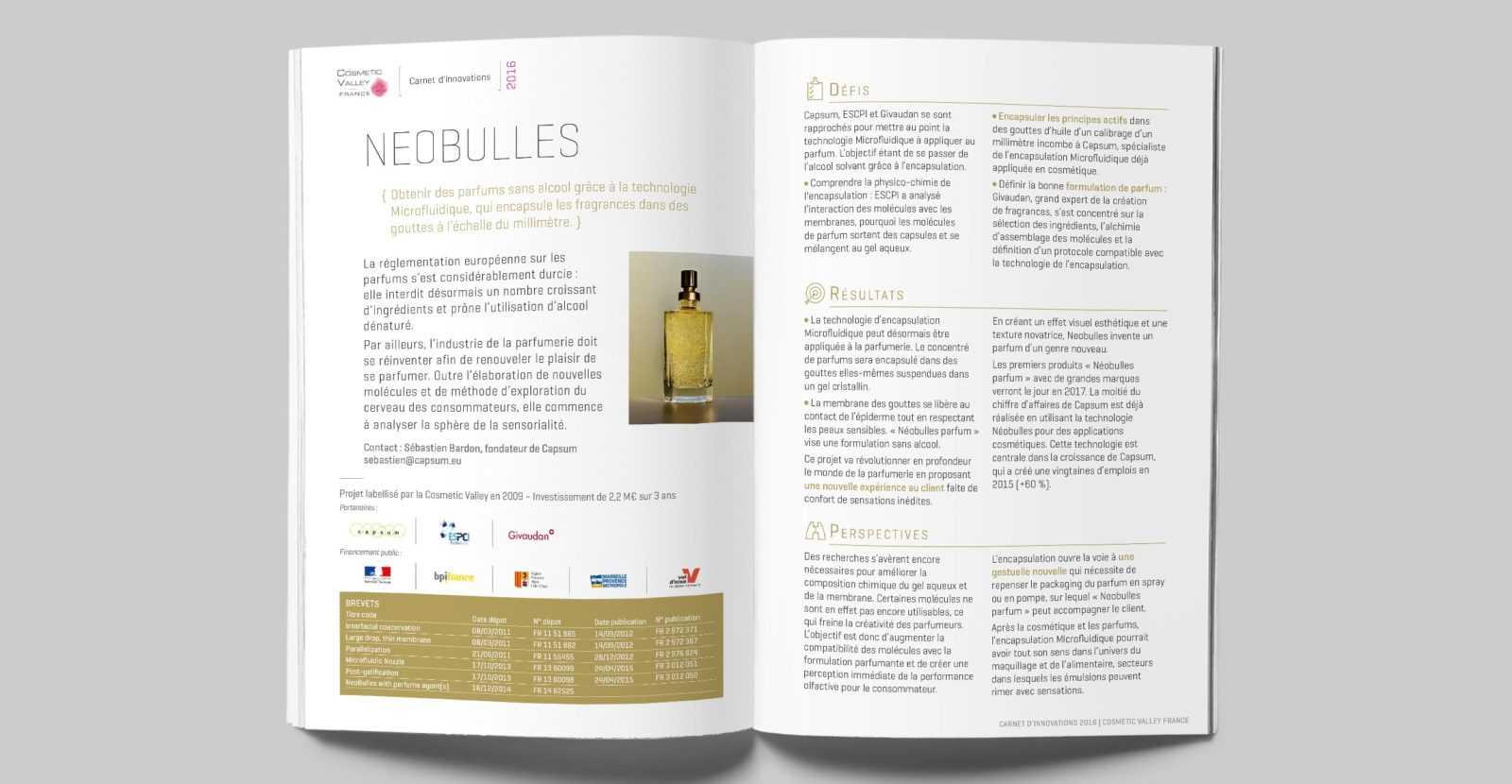 COSMETIC VALLEY, client référence de L'HIRONDELLE, agence de communication parisienne