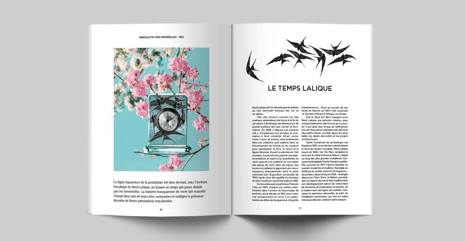 LALIQUE, client référence de l'agence de communication parisienne L'HIRONDELLEA