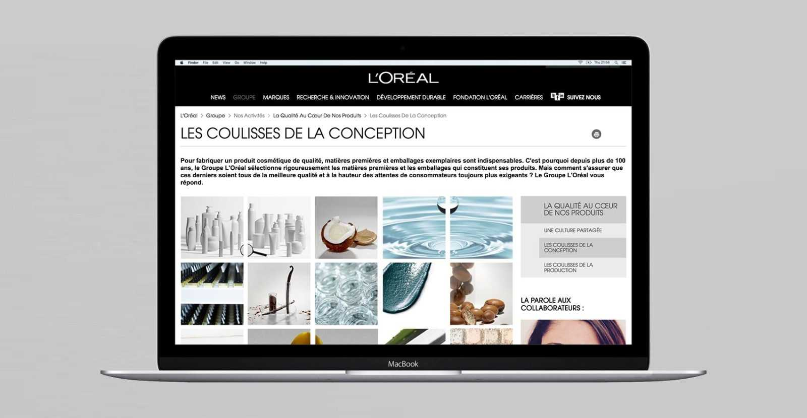 L'ORÉAL, référence client de L'HIRONDELLE, agence de communication parisienne