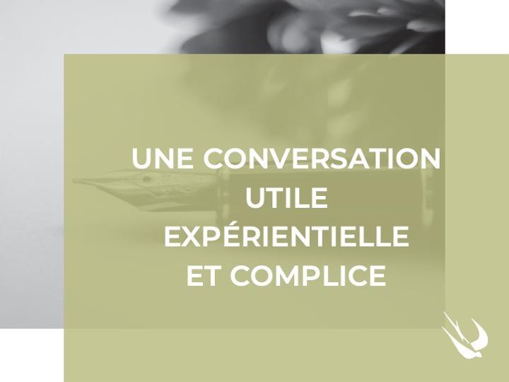 CONVERSATION ET BRAND CONTENT VU PAR L''HIRONDELLE